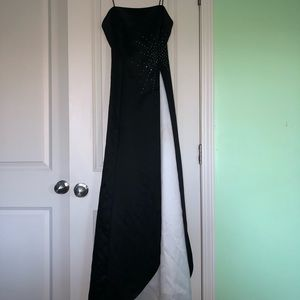 Dave & Johnny Dresses - vintage formal dress with rhinestones